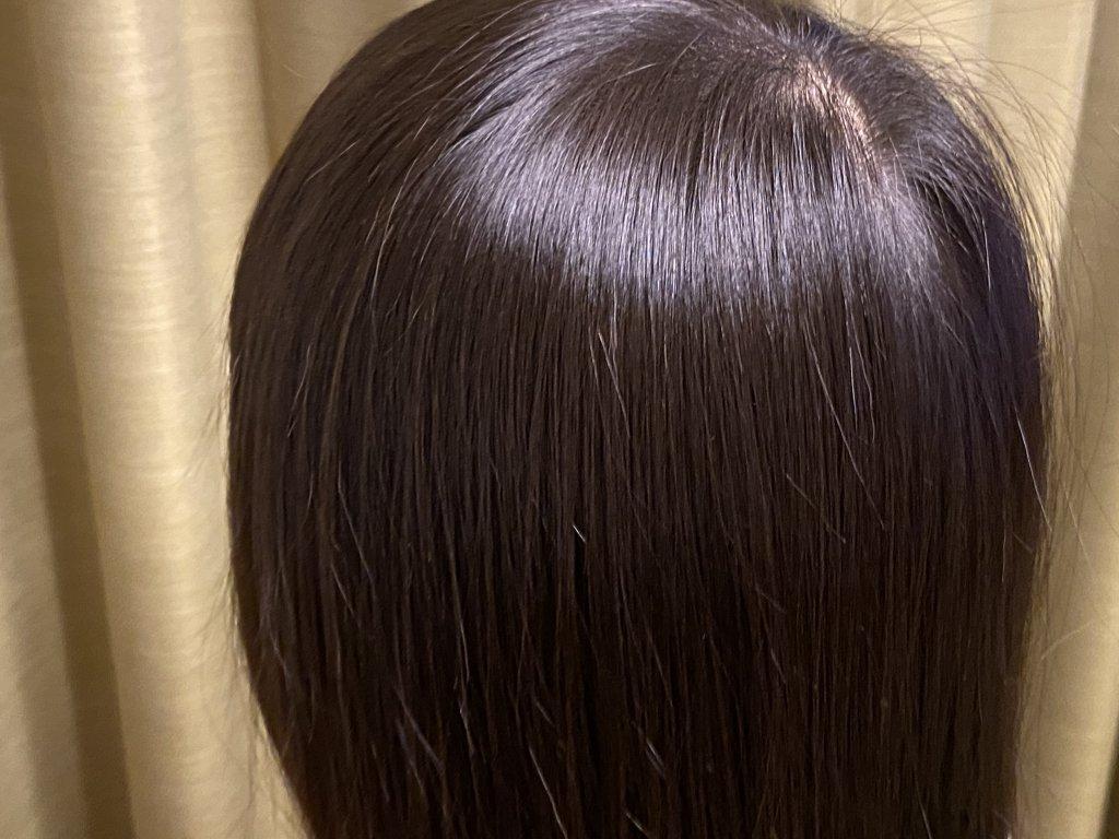 パナソニック ヘアドライヤー ナノケア EH-NA0B 髪の状態