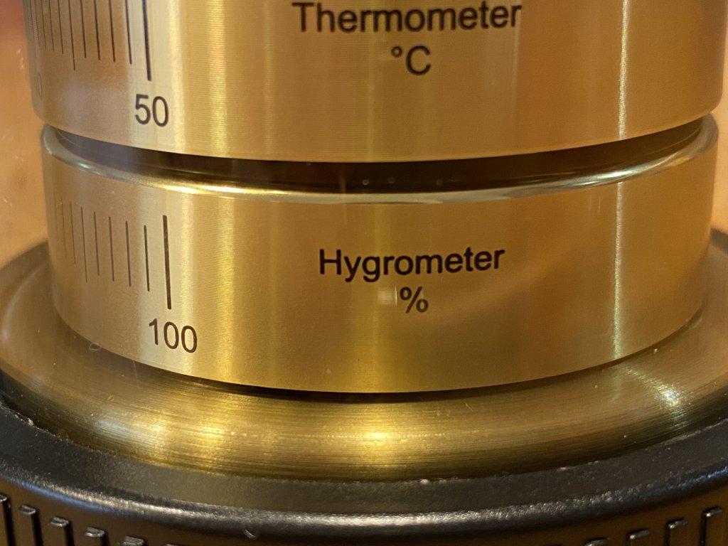 BARIGO バリゴ 温湿気圧計 湿度計
