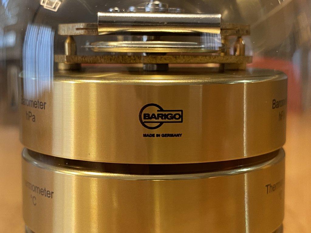 BARIGO バリゴ 温湿気圧計 ロゴ