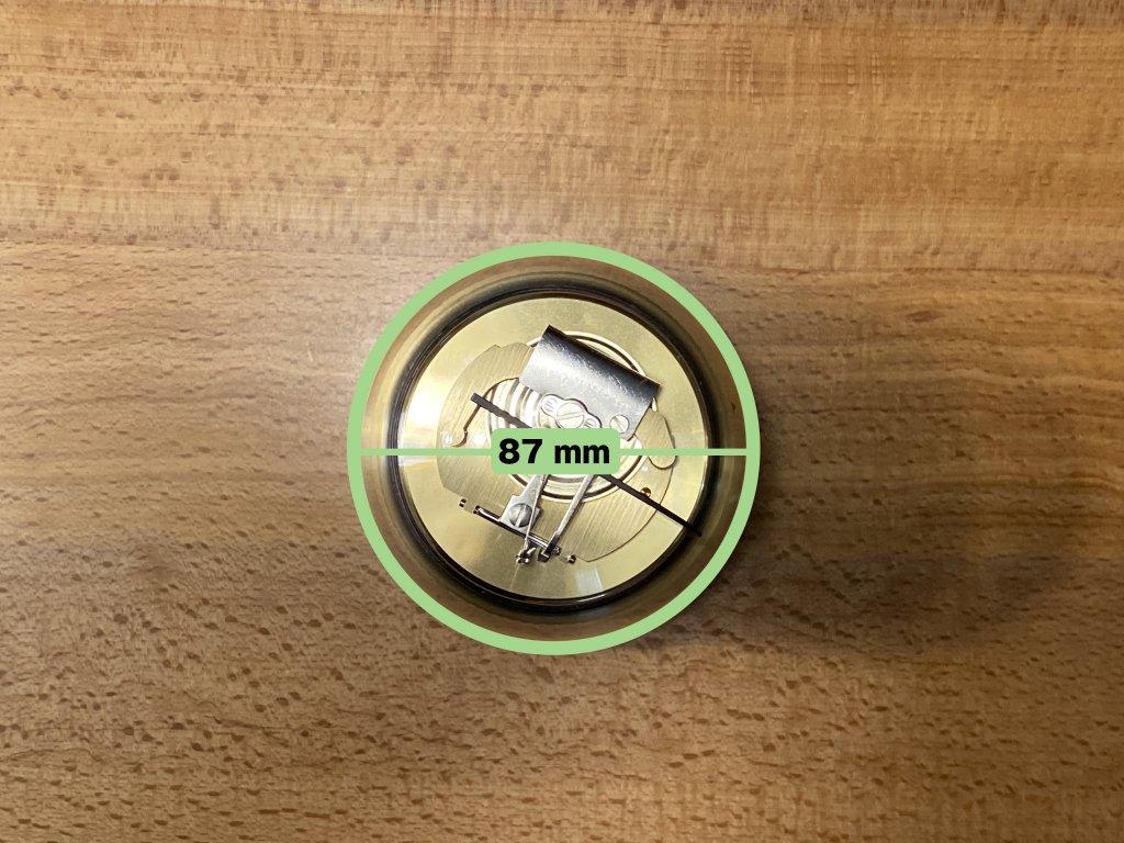 BARIGO バリゴ 温湿気圧計 直径