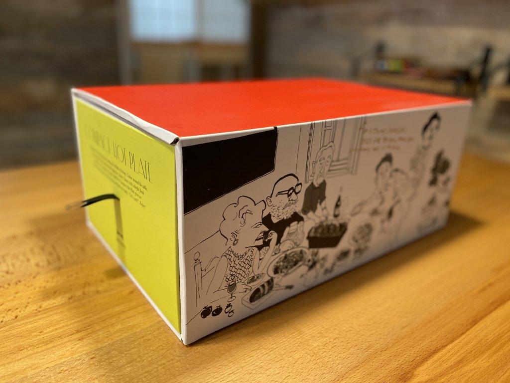 BRUNO ブルーノ コンパクトホットプレート 外箱