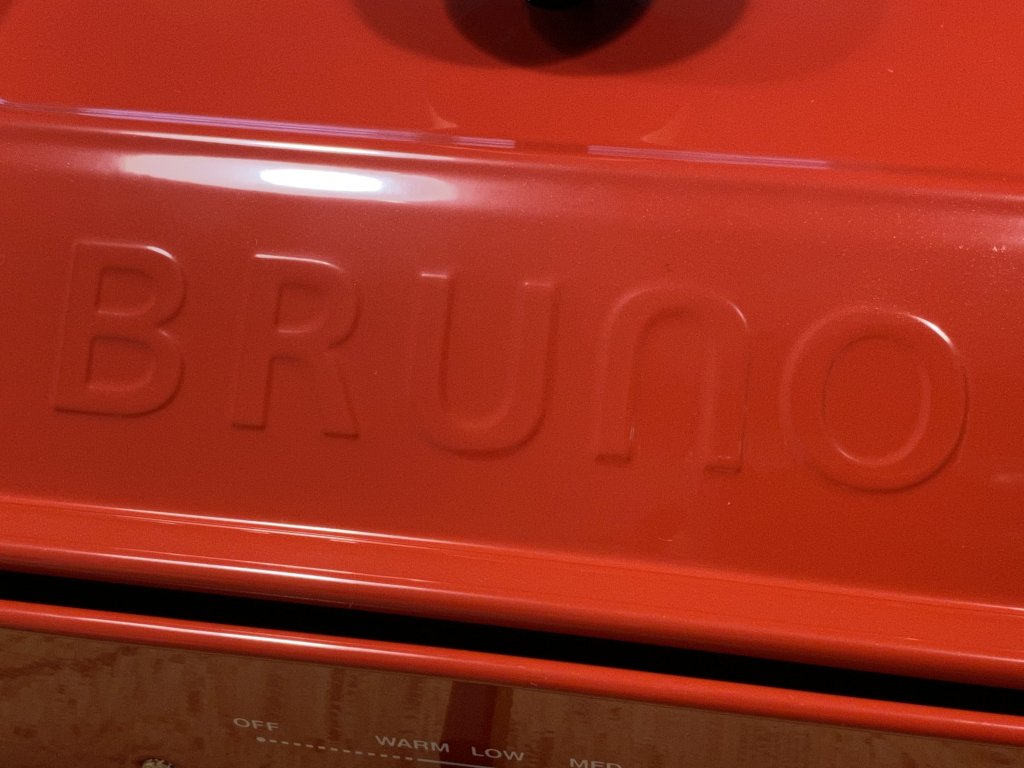 BRUNO ブルーノ コンパクトホットプレート ロゴ