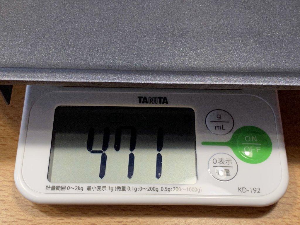 BRUNO ブルーノ コンパクトホットプレート 平面プレートの重さ