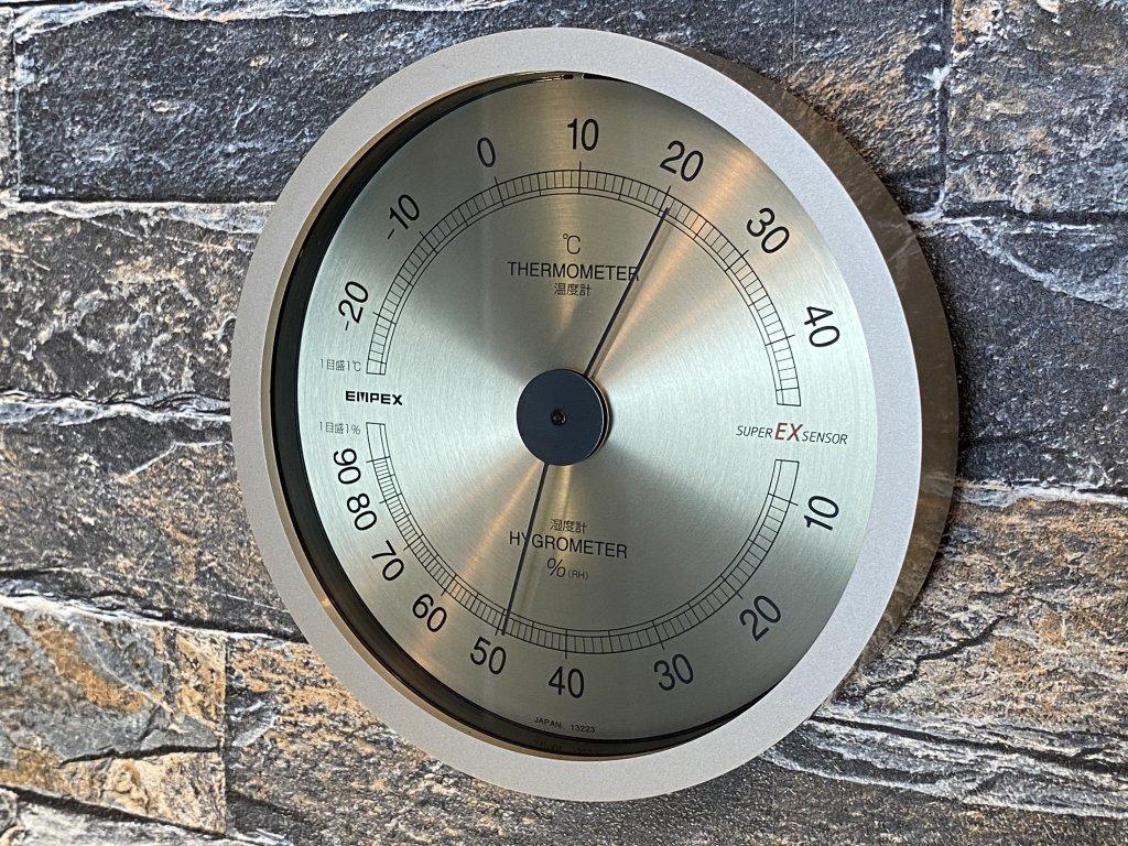 エンペックス気象計 温度湿度計 スーパーEX