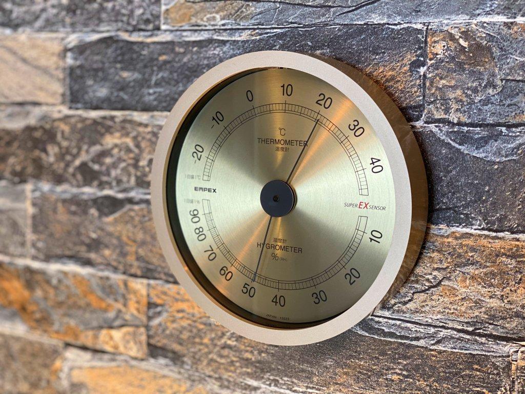 エンペックス気象計 温度湿度計 スーパーEX インテリア