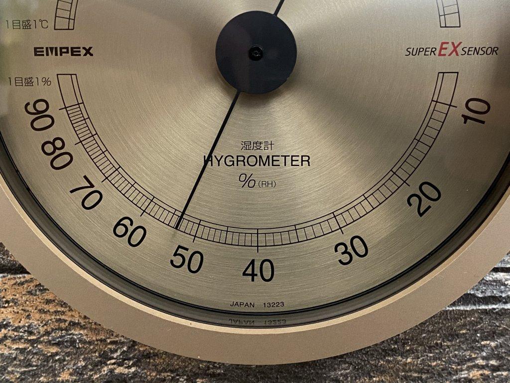エンペックス気象計 温度湿度計 スーパーEX 湿度計