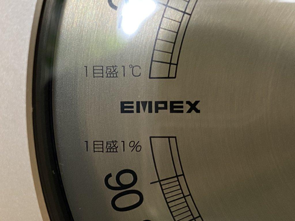 エンペックス気象計 温度湿度計 スーパーEX ロゴ