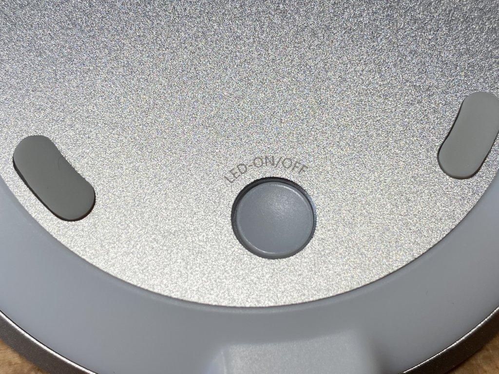 ENETREE 高速ワイヤレス充電器 EWCP01 スイッチ