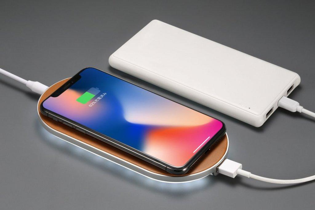 ENETREE 高速ワイヤレス充電器 EWCP01 USB-Aポート充電