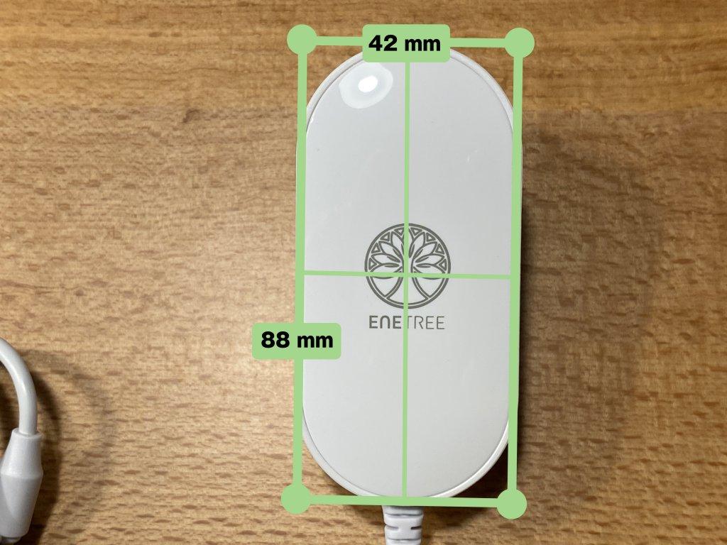 ENETREE 高速ワイヤレス充電器 EWCP01 ACアダプター