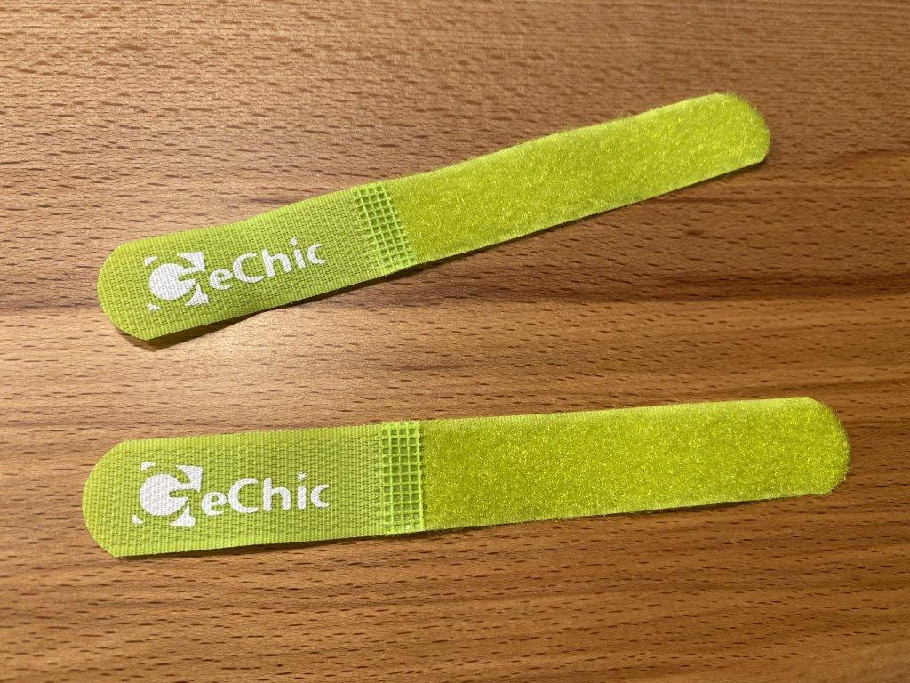 GeChic モバイルモニター On-Lap 1306H マジックテープバンド