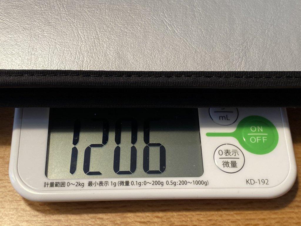 GeChic モバイルモニター On-Lap 1306H 総重量