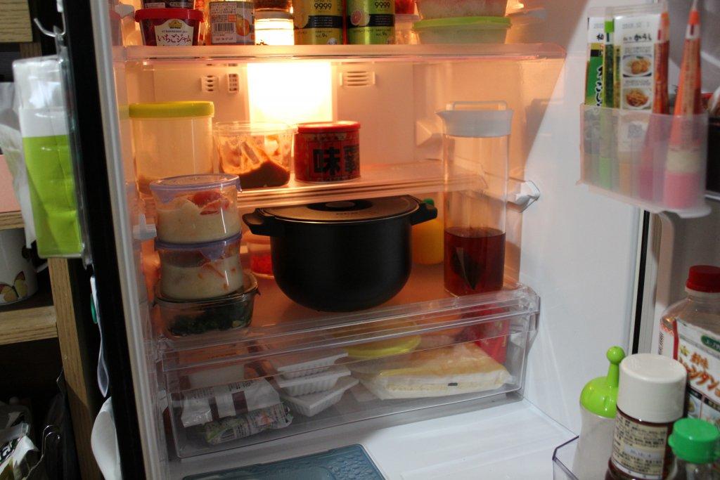 ヘルシオ ホットクック KN-HW16E 冷蔵庫
