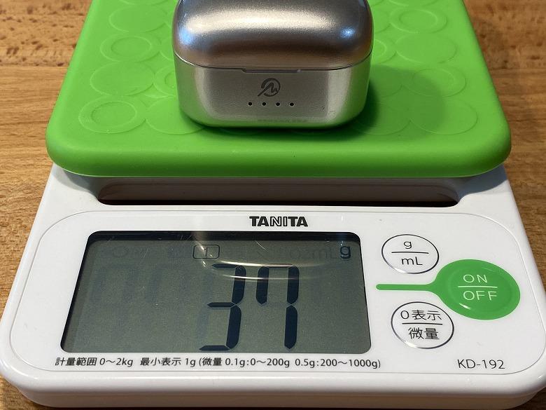 M-SOUNDS MS-TW21 ケースの重さ