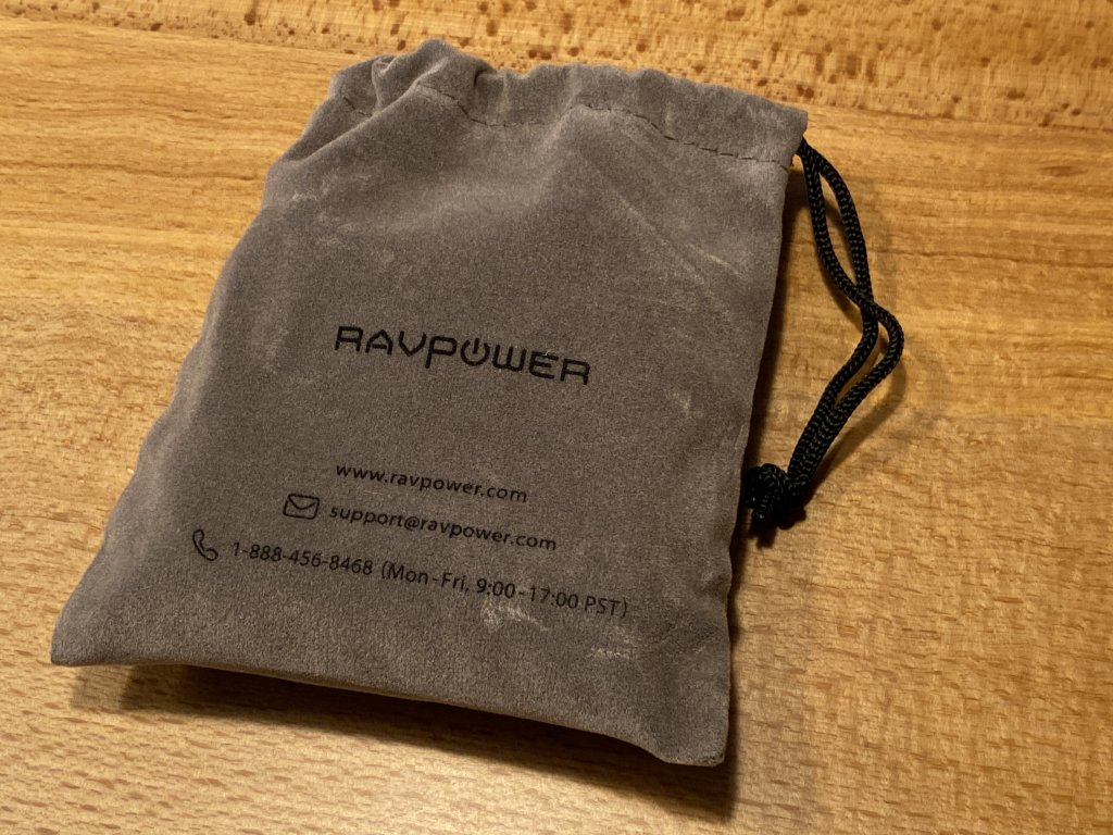 RAVPower RP-PB125 収納ポーチ余裕