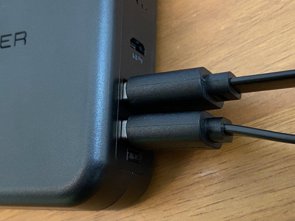 RAVPower RP-PB125 同時充電