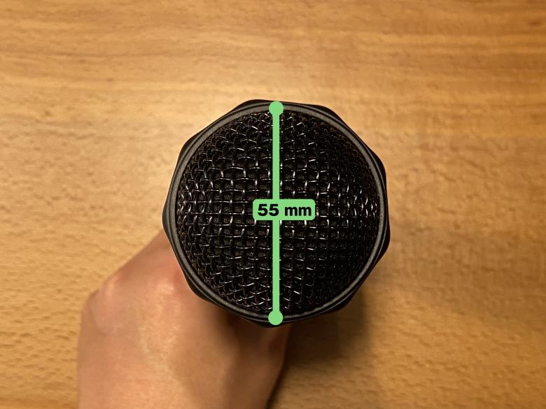 ニンテンドーUSBワイヤレスマイク 直径