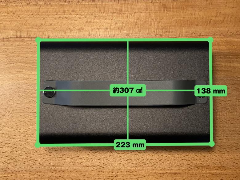 サンワダイレクト ポータブル電源 700-BTL046 サイズ