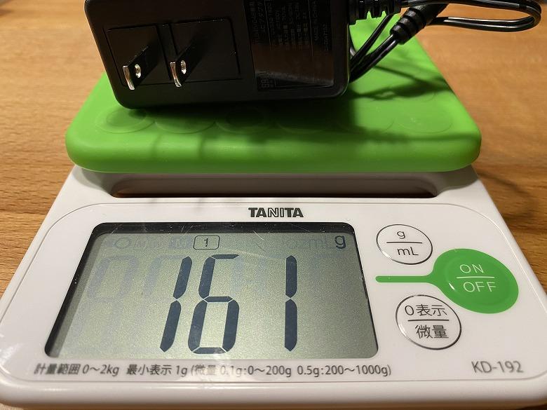 サンワダイレクト ポータブル電源 700-BTL046 ACアダプタ重さ