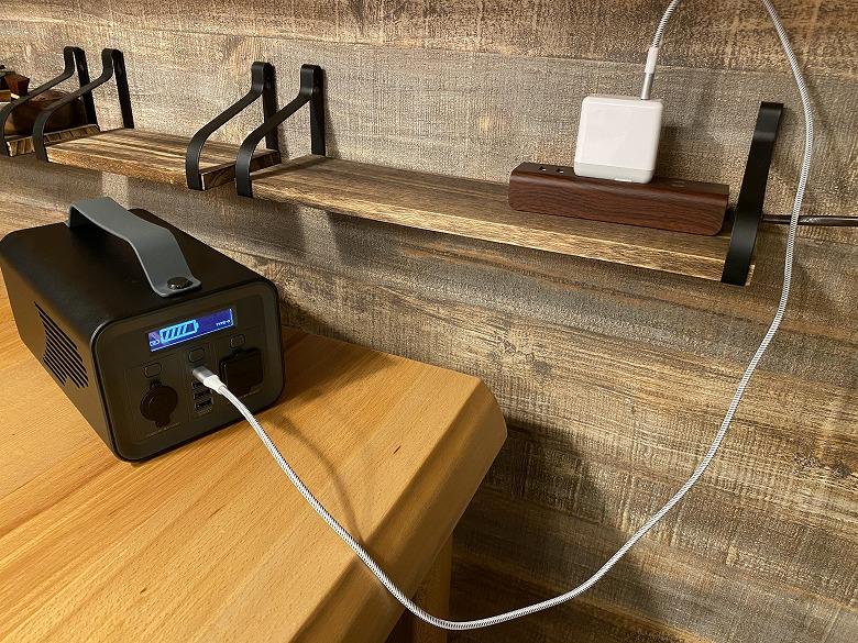 サンワダイレクト ポータブル電源 700-BTL046 USB-C充電