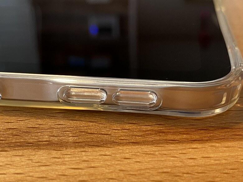 ESR iPad Pro 12.9 ケース 2020 クリア 音量ボタン装着