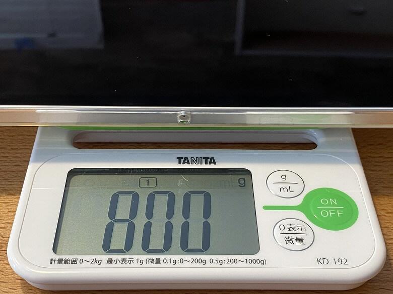 ESR iPad Pro 12.9 ケース 2020 クリア 総重量