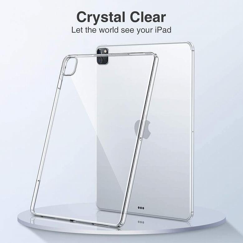 ESR iPad Pro 12.9 ケース 2020 クリア 外観