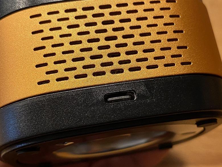 LUFT Cube USB Type-Cポート