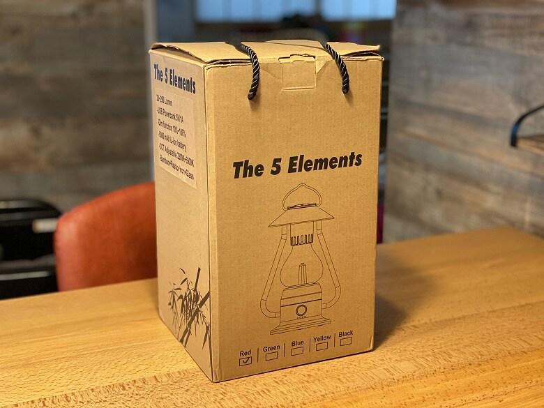 Bluetoothスピーカー付き山小屋風LEDランタン 外箱