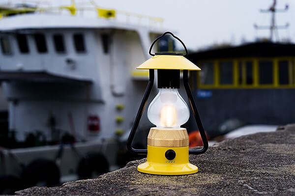 Bluetoothスピーカー付き山小屋風LEDランタン 照明機能