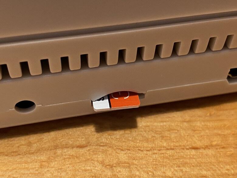 レトロフリーク コントローラーアダプターセット microSD