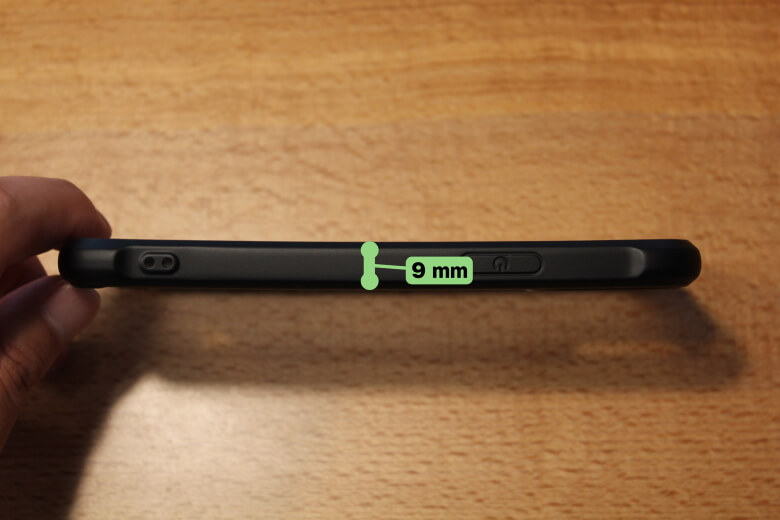 CASEFINITE Hybrid Pro iPhone 11 Pro厚さ