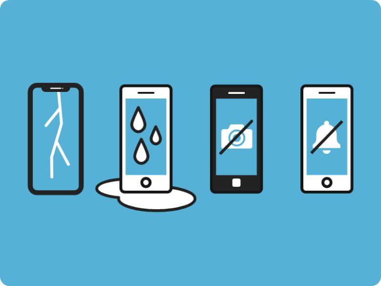 モバイル保険 保証の対象