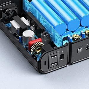 RAVPower ポータブル電源 30000mAh マルチ保護システム