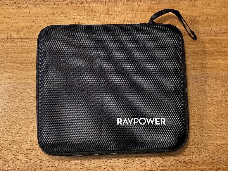 RAVPower ポータブル電源 30000mAh キャリーポーチ