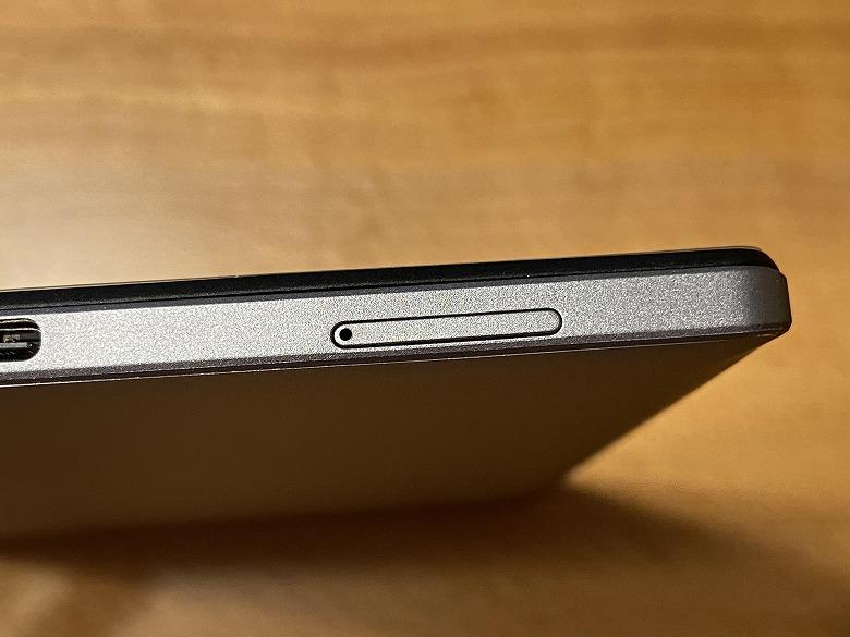Vankyo MatrixPad S30 microSDカードスロット