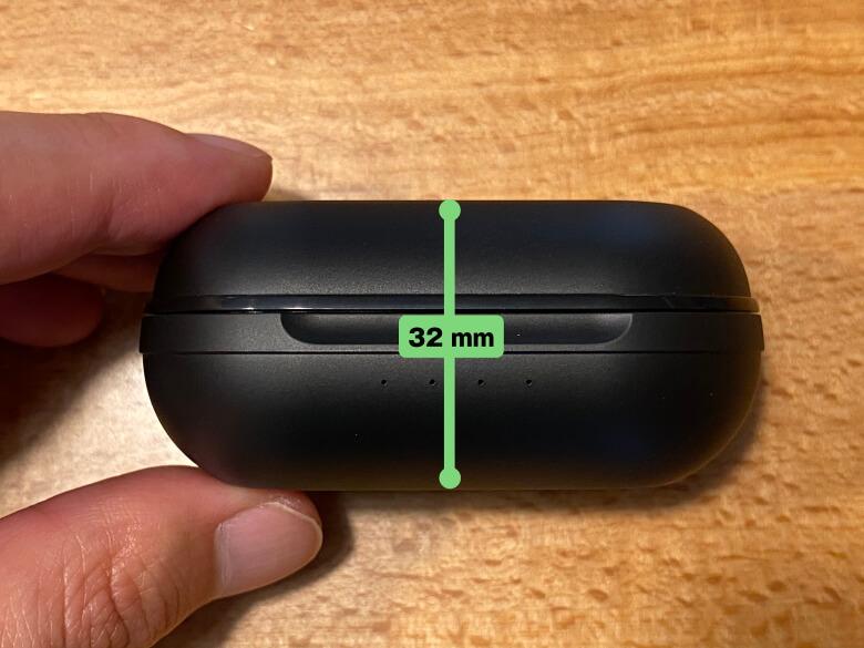 dyplay ANC-Shield Pro 充電ケース厚さ