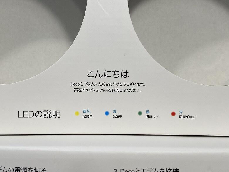 Deco X20 LEDの意味