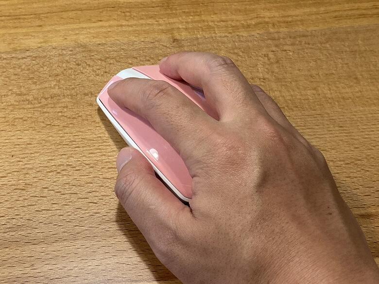 ハニーカラフルキーボード マウスは小さめ
