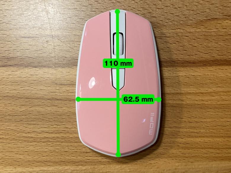 ハニーカラフルキーボード マウスサイズ