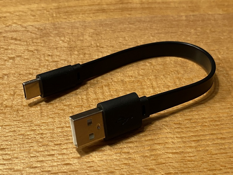 TaoTronics SoundLiberty 88 USBケーブル