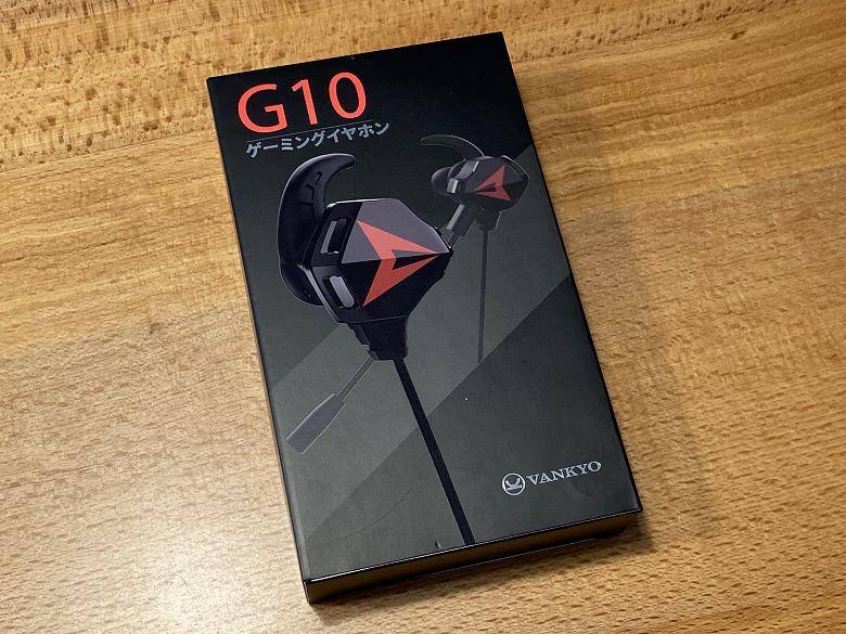 Vankyo G10 外箱