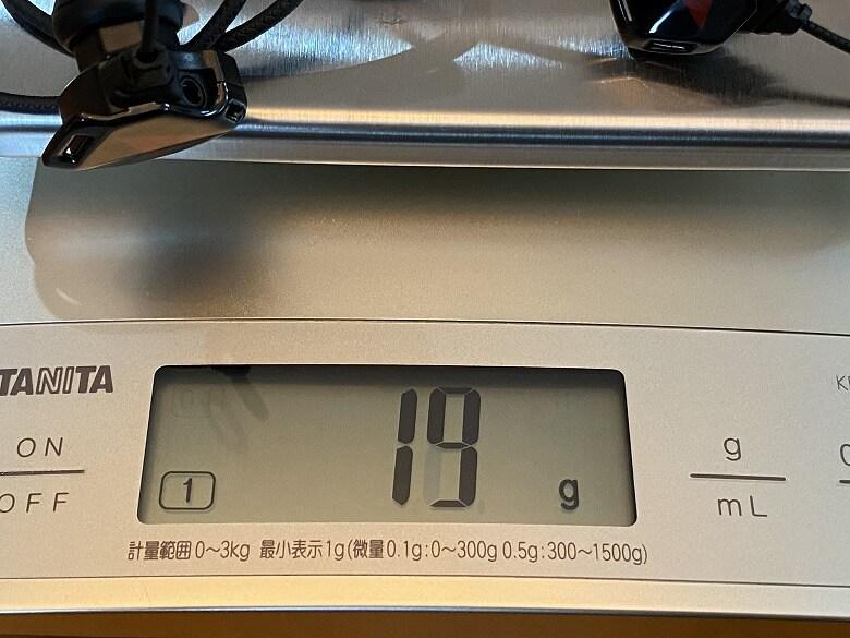 Vankyo G10 重さ