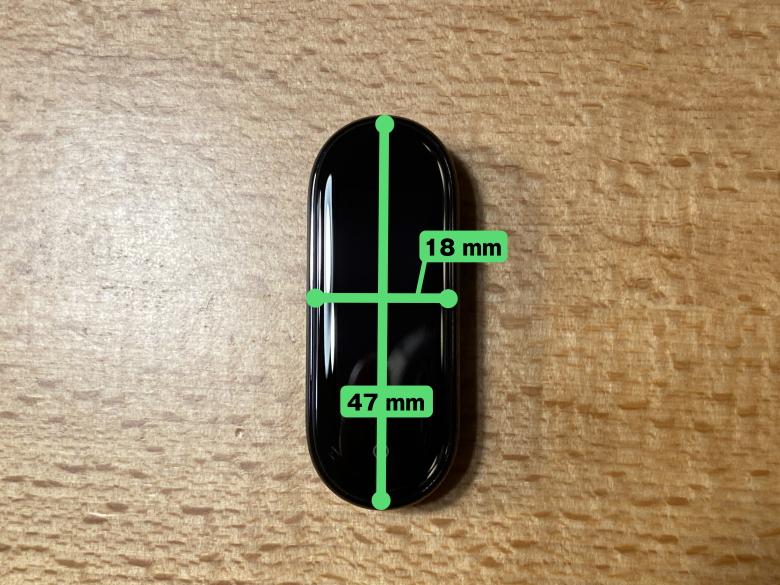 Xiaomi Mi Band 5 サイズ
