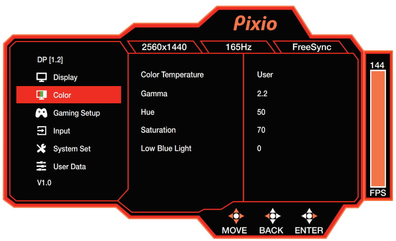 PX277 Prime Color