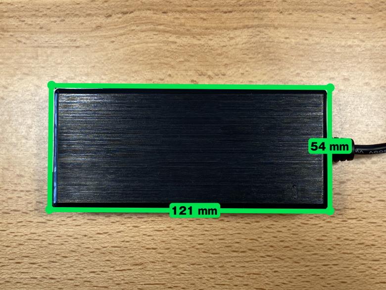 PX277 Prime 電源アダプターのサイズ