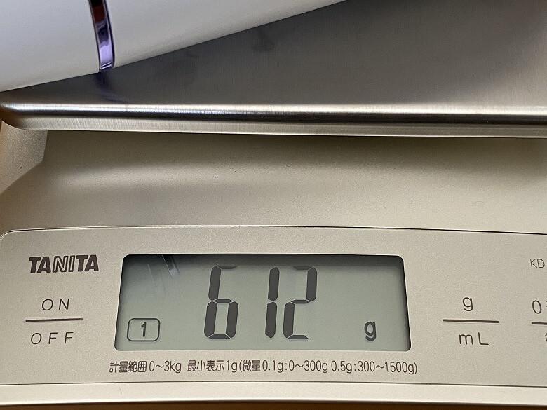 Eufy HomeVac H11 キャップ込みの重さ