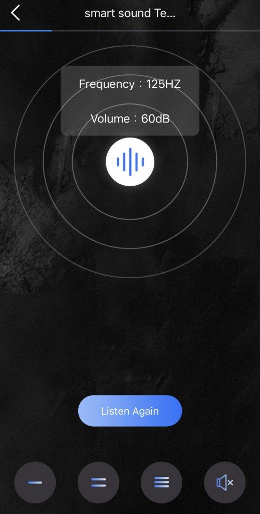 COUMI Ear Soul TWS-817A 聴覚テスト1