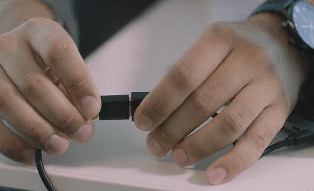 CZUR Shine USB給電