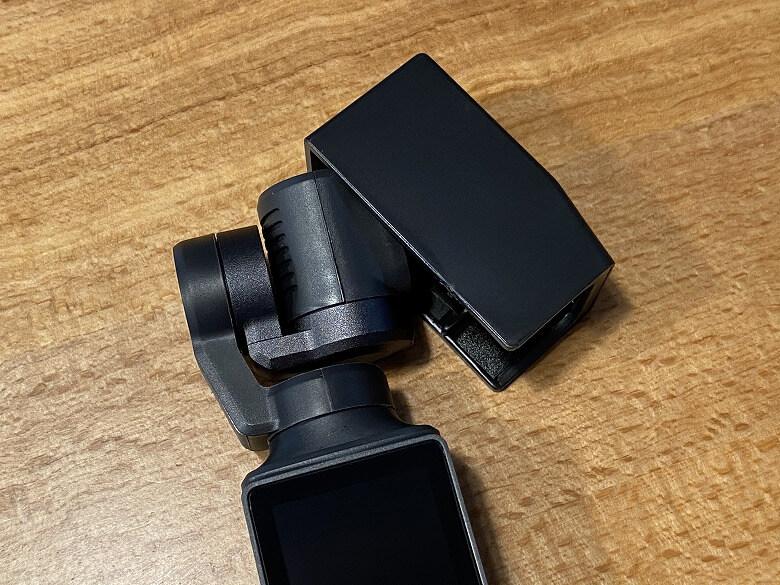 FIMI PALM 3軸ジンバルカメラ キャップ外す